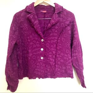 Tianello eco friendly Penelope jacquard jacket